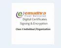 Emudhra Class 3 Combo Digital Signature Service