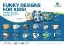 Kids Designer Cotton Face Masks