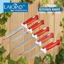 Lakkad International Multicolor Knife Peeler Set, For Multiuse