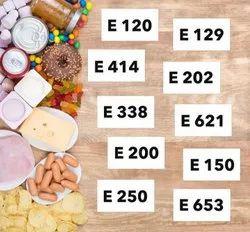 Colours E100 to E199