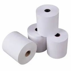 White Billing Paper Roll, GSM: Less than 80 GSM