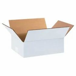 Plain 7 Ply Rectangular White Corrugated Packaging Box, Size (LXWXH) (Inches): 23 X 21 X 18 Inch