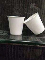120 ml white paper cups