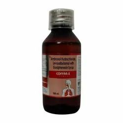 Levosalbutamol Sulphate Ambroxol Hydrochloride With Guaiphenesin Syrup, Packaging Size: 100ml