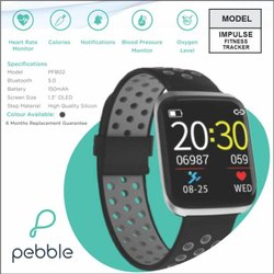 Pebble Fitness Band with HR, BP, O2