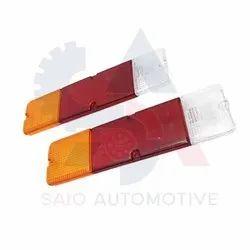 Rear Brake Tail Light Lens Set For Suzuki Samurai SJ410 SJ413 SJ419 Sierra Santana