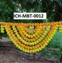 Marigold Bandarwar Half Circle - MBT-0012