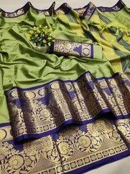 6.3 m (with blouse piece) jaree Handloom Saree