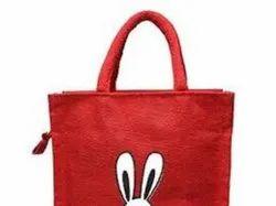 Designer Jute Jewelry Bag