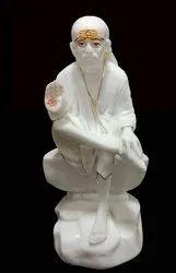 Polyresin Ashirwad Saibaba Statue Sai No. 3
