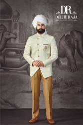 Dulhe Raja Chinon Jodhpuri Suit