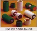 Flocked Clearer Roller For Ring Doubling Frames