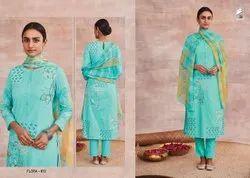 Flora By Sahiba Cotton Handwork Dress Materials Collection