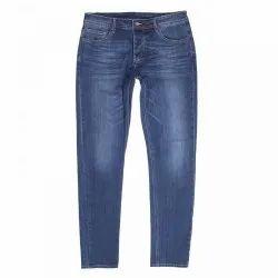 Button,Zipper Faded Men Assorted Causal Wear Denim Jean, Waist Size: 28