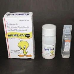 Cefixime and Potassium Clavulanate for Oral Suspension