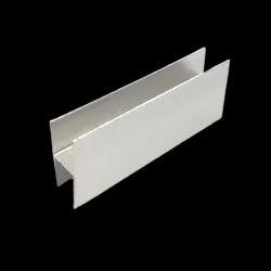 Aluminium H Profile, For Cubical Fittings