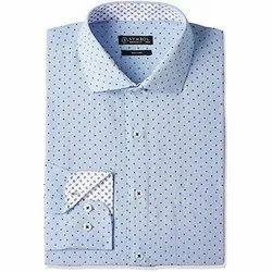 Mufti Cotton Mens Formal Shirts, Machine wash, Size: D