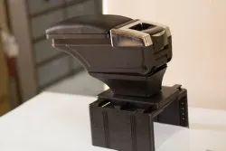Universal Car Armrest With Storage - 487 - Black