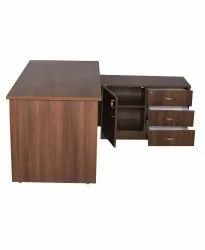 Modular Table with Storage and Drawers (VJ-2054)