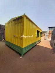 Rectangular Steel Security Cabin