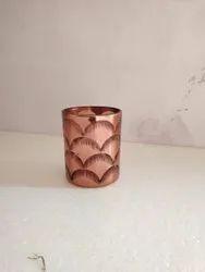 Glass Round Candle Votive