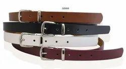 Size 26 To 44 Black Women Leather Belt