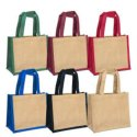 Small Jute Bag And Jewelry Bag