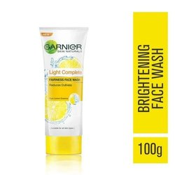 100g Garnier Light Complete Facewash, For Face Wash