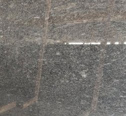 Steel Grey Line Polished Granite Slab, Rectangle, Thickness: 12mm