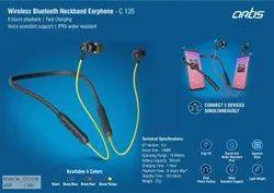 Artis Black C 135 Wireless Headphones, Model Name/Number: BE310M