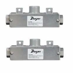 Dwyer 629C-02-R6-P1-E5-S1 Wet Differential Pressure Transmitter Range 10 PSID