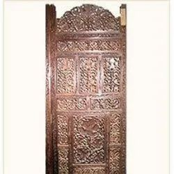 Brown wood Wall Plaque, Size: Standard