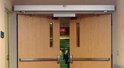 Fireproof Coated Automatic Fire Rated Door