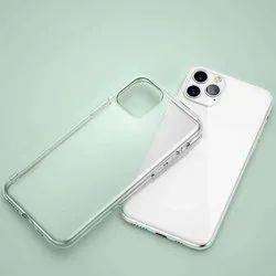 Silicone White Soft Mobile Back Cover, IIC Innovation