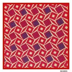 Navnath Papier Abstract Decorative Fabric Sheet, Gsm: 50-100, Size: 24*36