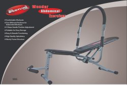 Wonder Abdominal Exerciser 995
