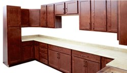 Maple Pure Wood Cabinets Package
