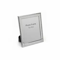 Beads & Design Silver Photo Frame,Size-8X10