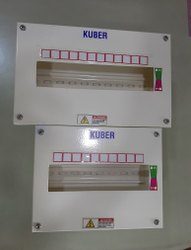 Kuber GI Single Door MCB Box, For Industrial