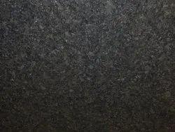 Polished Slab R Black Granite, For Flooring, Thickness: 15-20 mm