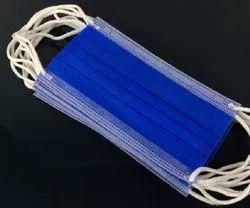 VS Disposable Dark Blue 3 Ply Melt Blown Face Mask, Certification: Iso