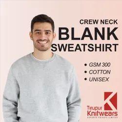 Plain Blank High Quality Crew Neck Sweatshirt