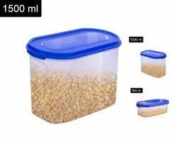 2334 Multipurpose Plastic Kitchen Storage Containers, Rectangle