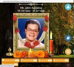 Online Tributes ( Online Shradhanjali ) Page Provider
