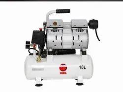 Hulk 1 HP Oil Free Portable Compressor, Discharge Pressure: 8 Bar, Model Name/ Number: OFC-10