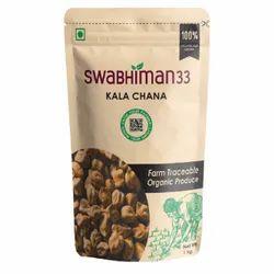 1kg Kala Chana, Packaging Type: Packet