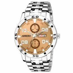 Abrexo Abx2030-Brown Analog Watch