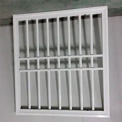 MS Paint Coated Window Safety Grill, For Residential And Commercial, Square