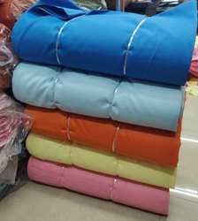 Multicolor Ruby Cotton Fabrics/Magic Cotton Slub/Plain Solids, For Garments, GSM: 100 Gsm
