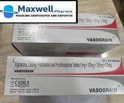 Caffeine + Ergotamine + Paracetamol + Prochlorperazine